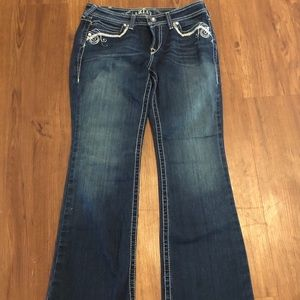 ARIAT Turquoise Jeans NWOT